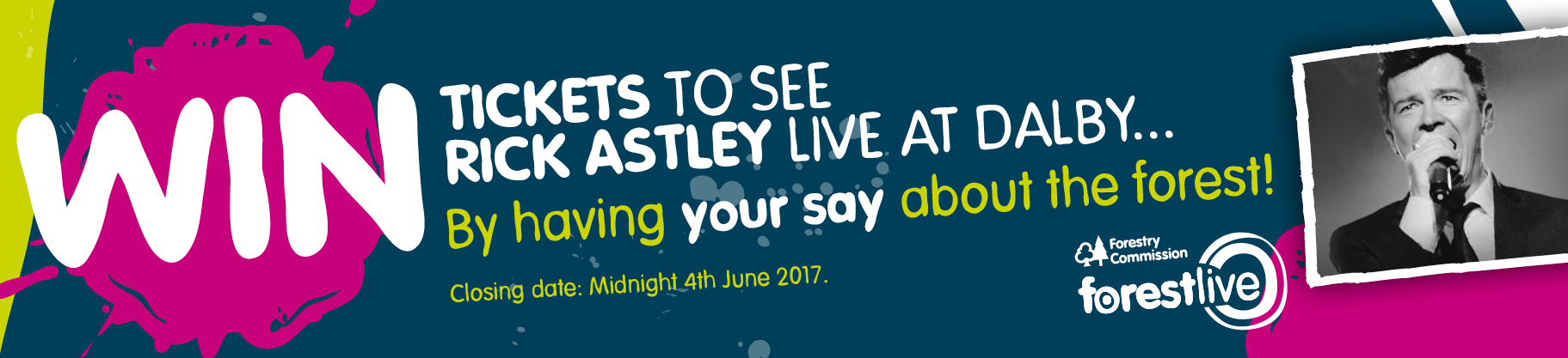 Win Tickets to see Rick Astley